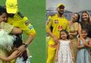 Sakshi and Dhoni to welcome their second baby in 2022